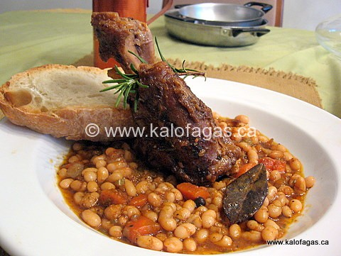Kapani Open Market and Braised Lamb Shanks With Beans