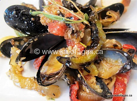 Grilled Smoky Mussels