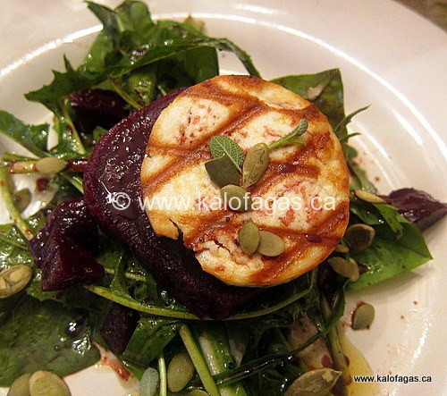 & Roasted Beet Salad Grilled Eggplant and Zucchini Salad With Feta ...