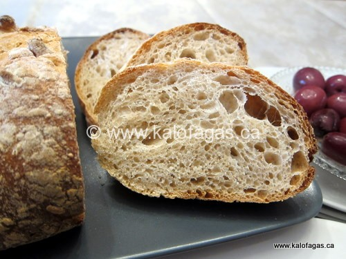 Wholewheat Artisan Bread