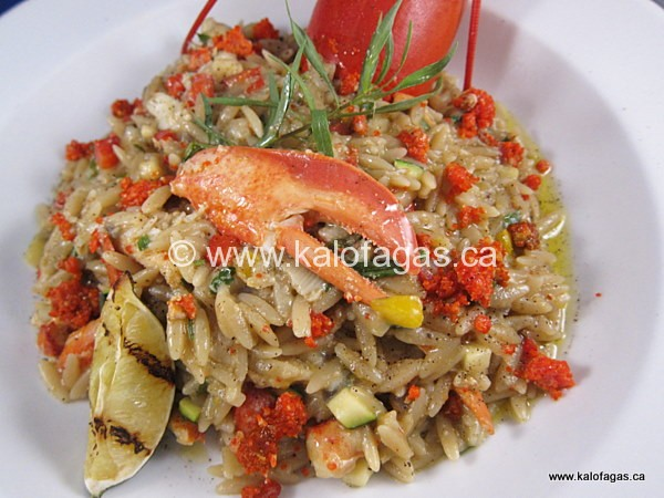 Lobster Kritharotto