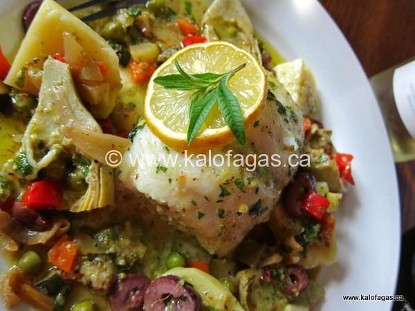 Herb-Stuffed Fish With Artichokes, Potatoes & Lemon Verbena ...