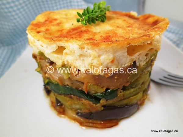 Meatless Moussaka - Kalofagas - Greek Food & Beyond - Kalofagas ...
