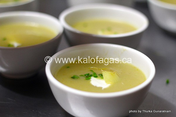 Artichoke Soup With Greek Yogurt - Kalofagas - Greek Food & Beyond