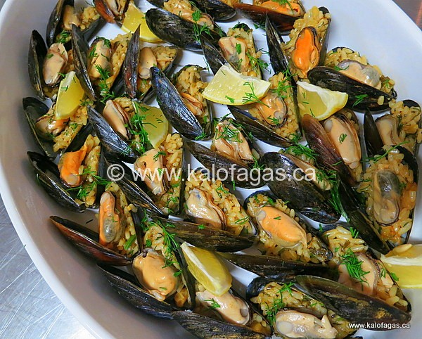Stuffed Mussels With Rice, Pine Nuts and Sultanas | Cooking and ...
