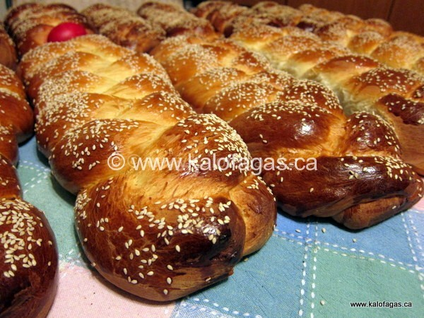 Tsoureki - Greek Easter Bread For Sale - KALOFAGAS | GREEK FOOD ...