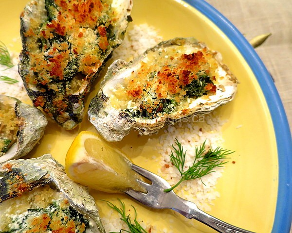 how to make baked oysters