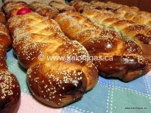 Greek Easter Baking Class on April 17th